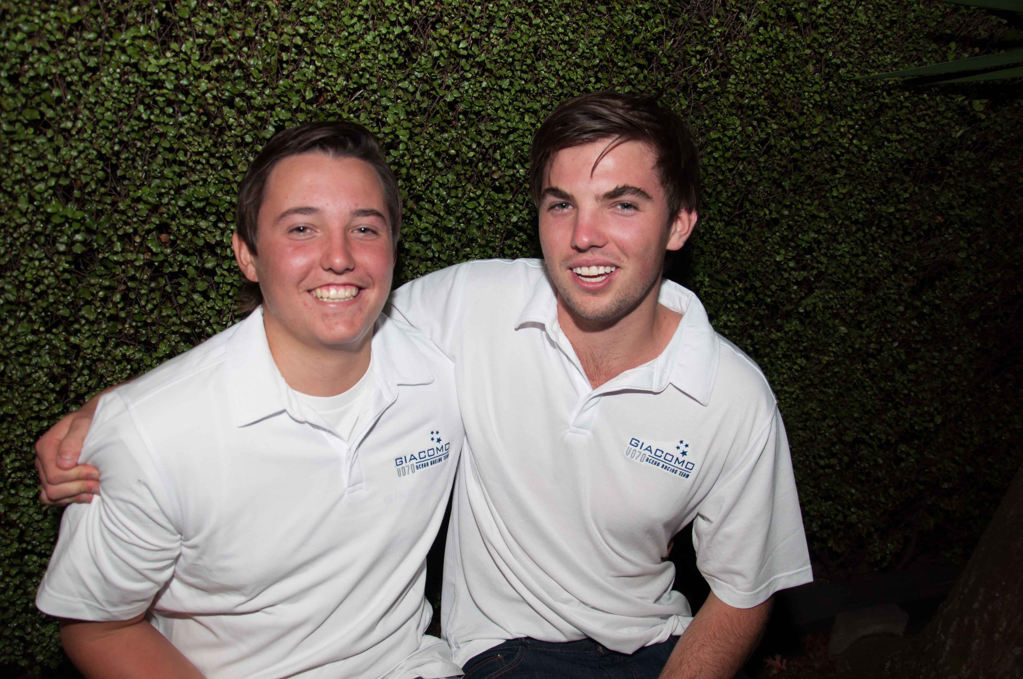 Brothers to embark on first ocean race together. Photo by Suellen Hurling