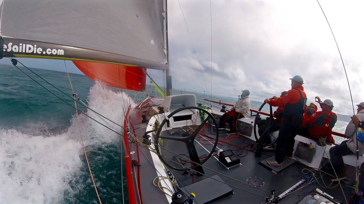 Anarchy Racing. Photo taken during the RAYC Auckland to Gisborne Race. in 2015.